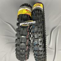 Ban luar Dunlop DGX 01 set 16-19 - Ban motor trail set depan belakang