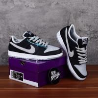 SEPATU Nike SB Dunk Low J-Pack Shadow Black Grey