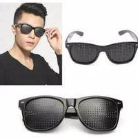 Kacamata Terapi Minus Silinder Pinhole Glasses Kesehatan / Pinhole