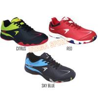 Sepatu Badminton / Bulutangkis Flypower Losari 3 Red Navy