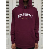 hoodie pria nocturnal theme / programmer hoodie