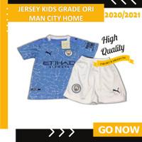 Jersey Kaos Bola ANAK KIDS Grade Ori City Home 2020 / 2021 Murah - 16