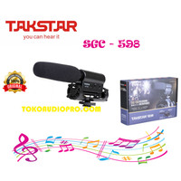 takstar sgc598 sgc-598 sgc 598 microphone vidio camera