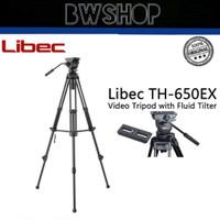 Libec Video Tripod 650 EX - Tripod Libec 650 EX