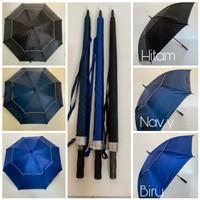 Payung Golf / Payung Besar / Golf Jumbo Susun Anti Angin Otomatis Buka
