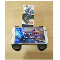 Gamepad Dual Joystick Game Pad Holder Handphone Smartphone Hp