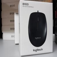 Logitech B100 mouse kabel MURAH USB CABLE HEMAT ORIGINAL GARANSI RESMI