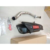 Knalpot R9 AEROX Misano ORIGINAL / Knalpot Yamaha Aerox 155 R9 Misano