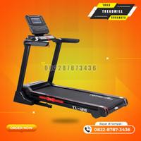 Alat fitnes gym treadmill elektrik TL-126 tipe besar merk total gym