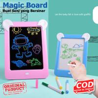 Magic Board Drawing LED 85127 - Papan Gambar Ajaib Edukasi