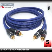 Kabel Audio RCA (Nakamichi) 5 Meter