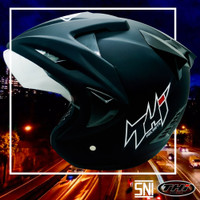 Helm Rookie Solid Black Gloss & Doff