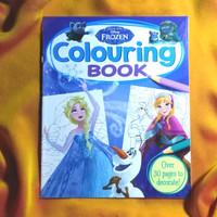 Buku Impor Anak BBW: Buku Mewarnai Frozen