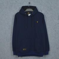 Sweater hoodie pria origina stwoz - biru navy, M
