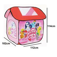 Tenda Anak Rumah Beautiful Horse Ukuran 102 X 112 X 114 CM