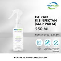 Disinfectant Spray Antiseptik Cairan Desinfektan PROKLEEN 250mL