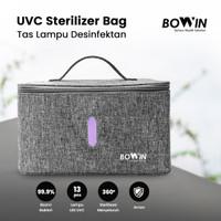 Bowin Tas UVC Sterilizer (Box Lampu Desinfeksi Bakteri, Kuman, Virus) - UVC BAG