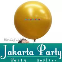 Balon Latex Doff Gold Jumbo / Balon Latex Doff / Balon Doff Jumbo