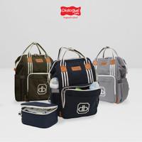 Dialogue Tas Ransel Perlengkapan Bayi Baby + Cooler Bag Classy DGT7412
