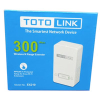 Totolink EX210 Wireless N Range Extender 300 Mbps Internal Antenna