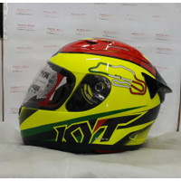 KYT RC7 #15 Italy Yellow Fluo