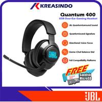JBL Quantum 400 / Q400 Wired Over Ear Gaming Headset Headphone Resmi