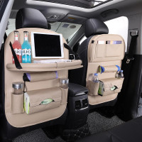 Car Set Organizer Plus Meja Lipat / Tas Mobil - Black