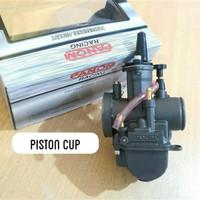 Karburator PWK 28 Panom Black Series / Karbu PWK28 Panom Hitam New Cnc