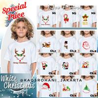 BEST SELLER-Kaos/Baju Natal Merry Christmas terbaru,GRATIS CUSTOM NAMA