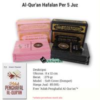 Al Quran Hafalan Saku Per 5 Juz Dompet Sahifa