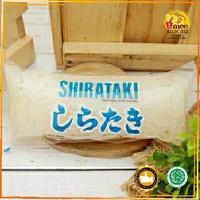 MIE SHIRATAKI BASAH   WET SHIRATAKI NOODLE   350 GRAM   HALAL MUI