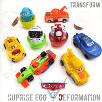 OBRAL CARS MOVIE EGG DEFORMATION TRANSFORM - MAINAN ANAK TELUR MOBIL