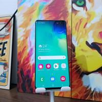 Samsung galaxy s10 plus Ram 8/128gb Dual sim resmi sein colour Green