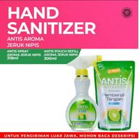 Paket Antis Spray 318ml dan Refill Pouch 300ml