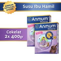 Anmum Materna Cokelat 400gr - Susu Ibu Hamil - 2 Pcs