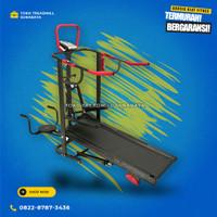 Treadmill manual 5 fungsi merk total gym fitnes tipe TL-003