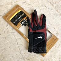 [Pre-owned] Nike Golf Weatherfeel glove sarung tangan kiri