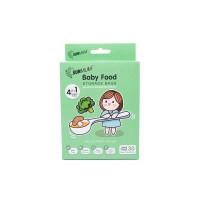 SUNMUM Baby Food Storage Bags Kantong Makanan Bayi 30Pcs