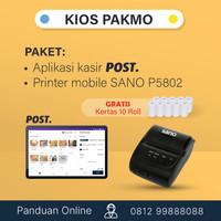 Paket aplikasi kasir mobile android Kios Pakmo