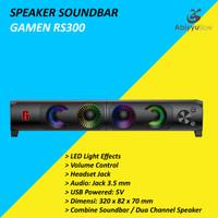 Speaker Robot Gamen Soundbar RS300 For Laptop - Notebook - PC Komputer