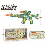 Mainan Anak Pistol Senapan 2027 Ada Suara dan Lampu