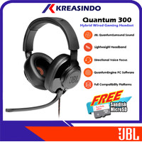 JBL Quantum 300 / Q300 Wired Over-Ear Gaming Headset Headphone Resmi