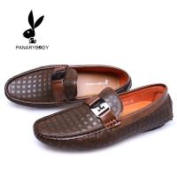 Sepatu Slip on Pria Formal Santai Casual Original Branded Panarybody - Cokelat, 39