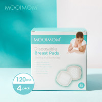 MOOIMOM 4 Pack Disposable Breastpad