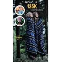 HOT PROMO - Blanket Tenun Etnik - Free Ikat Kepala & Gelang Tenun