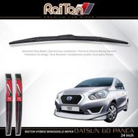 """Raiton Wiper Hybrid Kaca Depan Mobil Datsun-Go Panca 24"""""""