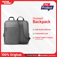 "Backpack Bag Huawei Matebook Tas Kerja dan Laptop 16"" - Original"