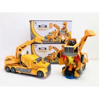 MAINAN ANAK AUTO ROBOT KONSTRUKSI MAINAN CONSTRUCTION AUTO ROBOT MURAH