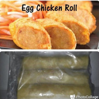 egg chicken roll