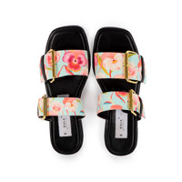 KALA STUDIO X MADER Double Buckle Square Toe - Fancy Pansy